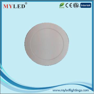 12w Painéis de plástico de 6 polegadas CE RoHS Certificado Ultrathin LED Painel Light