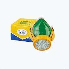Chemische Sicherheit Neue Gas Gesicht Atemschutzmaske Halbmaske mit Filter für Staub