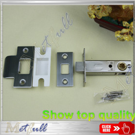 Bolt Tubular Mortise Door Latch Passage Lock