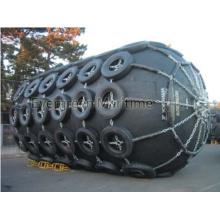 Pára-choque de borracha pneumático de flutuação de D3.3m X EL6.5m