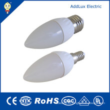 E14 E27 B22 E26 3W Bombilla Lámpara LED Vela