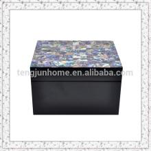 Mãe de pérola shell caixa de jóias caixas de presente