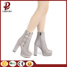 11cm Ladies platform High Heels PU Bootie