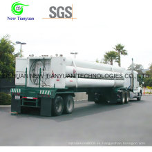 8-CNG-Tube cilindro de gas Jumbo CNG contenedor de medio tubo