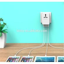 ORICO S4U Adaptador Multifuncional Global de Viagem atacadista mini carregador portátil USB porta porta USB