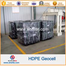 Géocellules en plastique HDPE pour soutenir le pipeline et l'égout