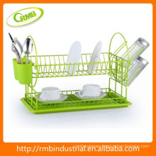colorful kitchen dish rack
