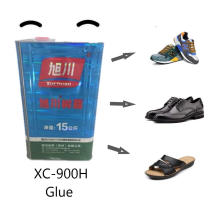 Colle PU non jaunissante pour chaussures à haute viscosité