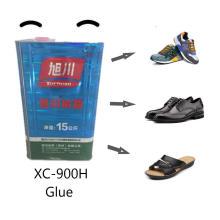 Cola PU de alta viscosidade para sapatos anti-amarelecimento
