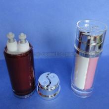 40ml 80ml tubo de doble botella de prensa loción