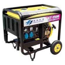 Generador diesel refrigerado por aire de tipo abierto (2/3 // 4/5/3/7/8/9 / 10KW)