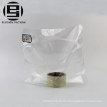 Cheap bolsas de compras de plástico claro hdpe personalizado