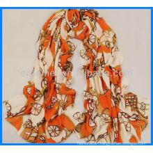 Lady spring summer fashion scarf promotional