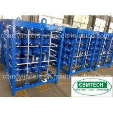 Compressed HP Gas Cylinder Bundles