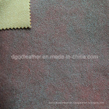 Eco-Friendly Breathable PU Furniture Leather (QDL-FB0059)