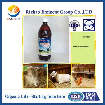 Agente Bacteriano de Algas Naturales para la Cría de Animales