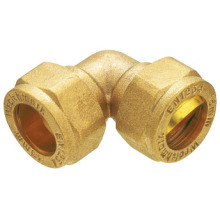 T1104 brass compression fitting brass fitting/ brass compression elbow