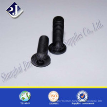 High Quality Black Finished Carbon Steel Machine Screw