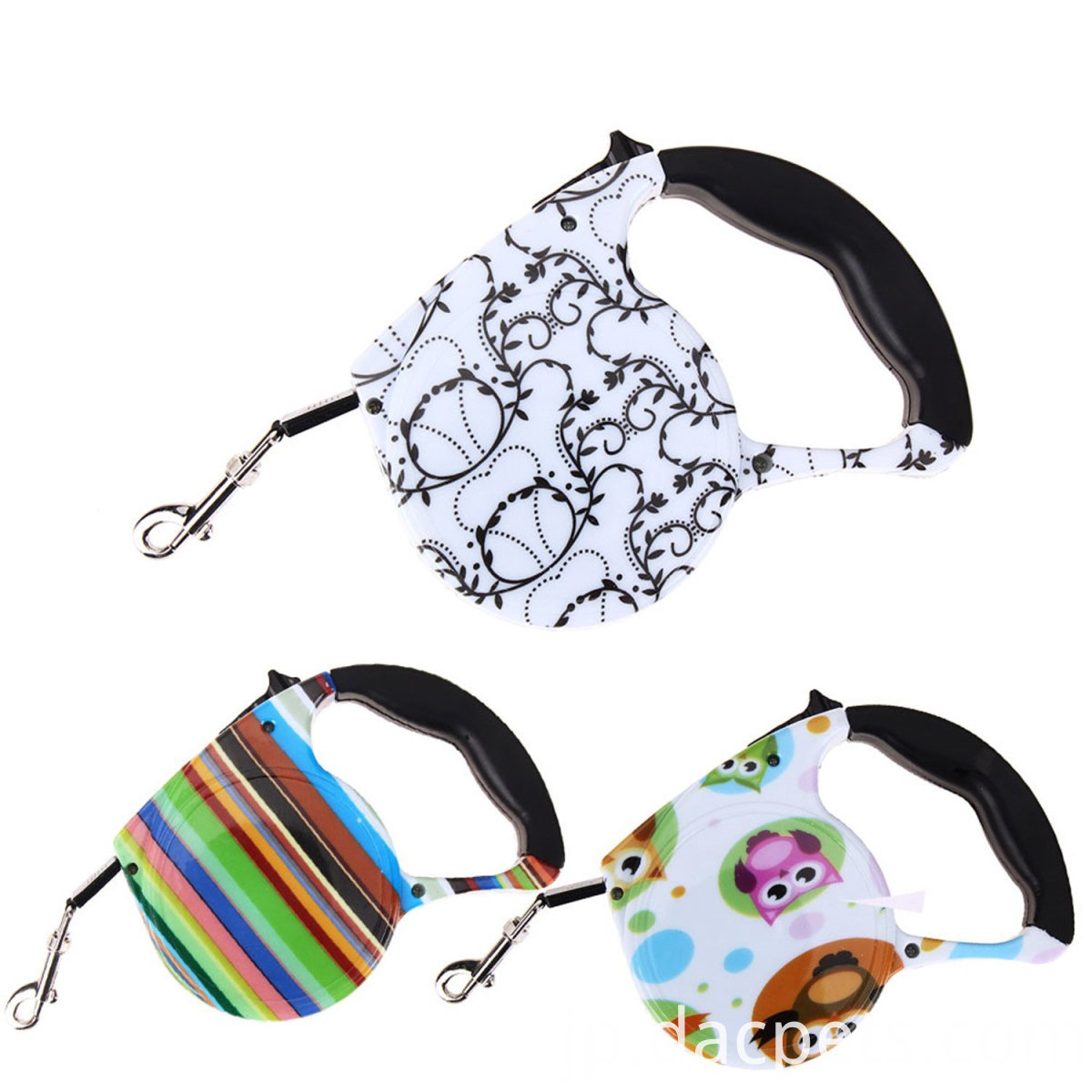 Color Printed Dog Tape Leash