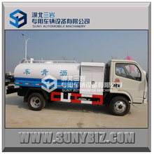 5000L China Mini Liquid Beheizte Bitumen Asphalt Transport Tank Truck