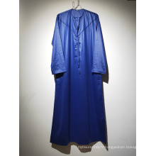 Peignoir omanais couleur bleu roi pour homme