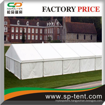 Classic white 15x30m Prospan Clear span fabric structure for sale