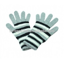 100% knitted cashmere gloves for ladies