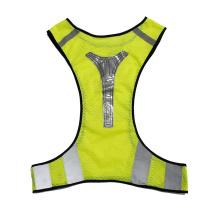 Sport Man Glowing Vest Reflective Fashion Vest Visibility, Bike Reflective Vest/