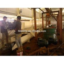 10T / H-80T / H Equipamento de refino de óleo de palmiste totalmente automático e de alta qualidade