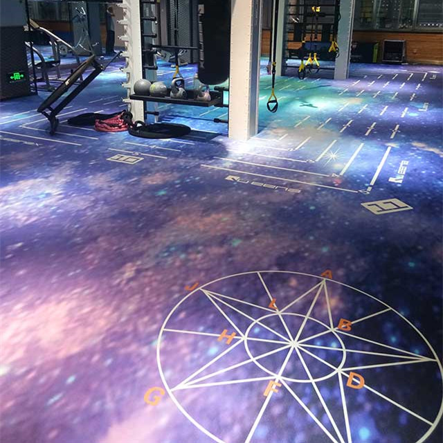 Gym Pvc Floor