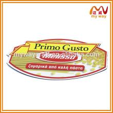 Logotipo da marca conspícua imãs de refrigerador personalizados para promoção de vendas