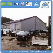 Construction en acier certifiée en Chine
