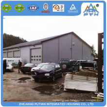 China product certificated steel structure car garage