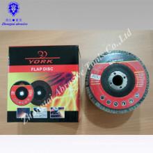 4 inch Flexible abrasive disc Flap disc