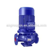 Pompe centrifuge verticale en acier inoxydable d'eaux d'égout