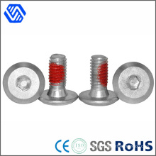 Hex Socket Bolt Carbon Steel Dacromet Allen Bolt with Teflon Paste Surface