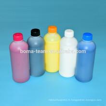 Kit blanc de remplissage d'encre d'impression de textile pour Epson F2000 pour le tissu de coton