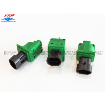 gegoten IP67-waferconnector