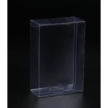 Caixa de plástico transparente para presente dobrável em PET transparente