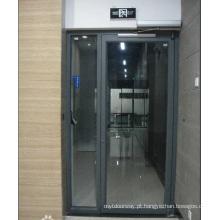 Abridor automático de portas de vidro giratório para experiência de 13 anos