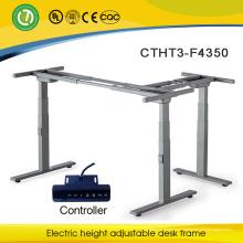 bureau de bureau réglable en hauteur électrique fauteuil roulant ergonomique ou assis