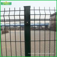 Hecho en China Precio de fábrica barata y fina cerca del acoplamiento de alambre del pvc 3d