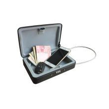Coffre-fort en couleur 8 pouces en boîte portative (C100-200)