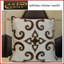 Bordados decorativos almofada de veludo de moda travesseiro (EDM0290)