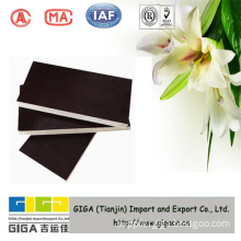 GIGA factory sale 4*8 poplar core brown 18mm film faced plywood export to UK