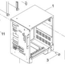 CPU Box / Wiring CPU de la impresora de pantalla de alta velocidad (KXFK000HA00)
