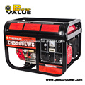 4.4kw Brushless Single Phase Fuel Gasoline Generators