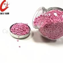 Gránulos de masterbatch de color rosa claro
