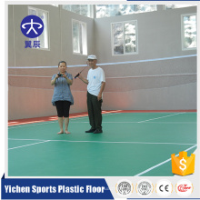 Suelo deportivo profesional palstic piso de tenis de mesa suelo de pvc