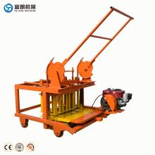 Kleine Zementhohlblockhersteller-Ziegelsteinformungsmaschineausrüstung und -preise